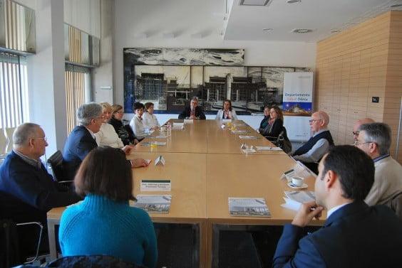 Reunión con las asociaciones de pacientes de la Marina Alta