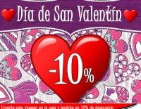 Promoción de San Valentín en Electrodomésticos Pineda