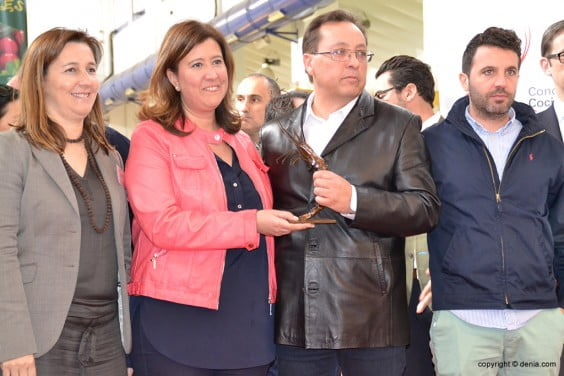 Sepulcre presidente de la Cofradía de Pescadores de Dénia