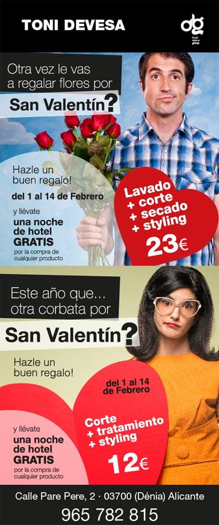 Toni Devesa Estilistes - San Valentín
