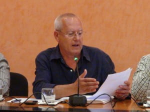 Vicent Grimalt - secretario de los socialistas de Dénia