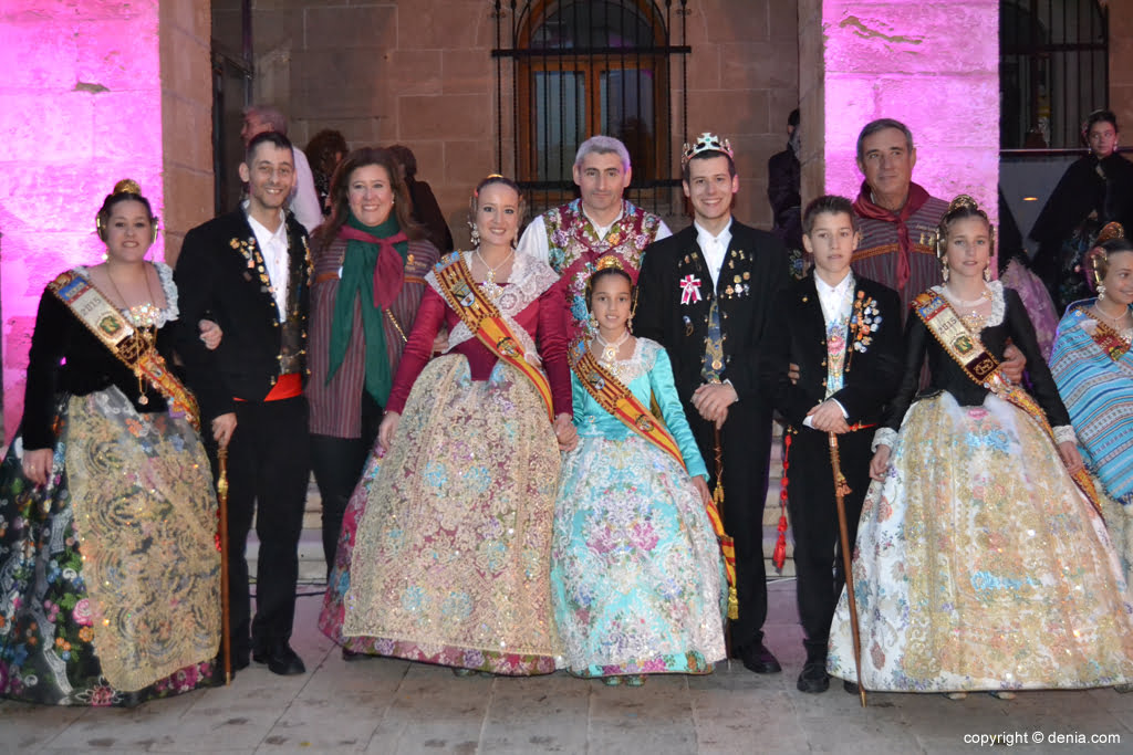 Reception of new Fallas presidents - Charges Falla Diana