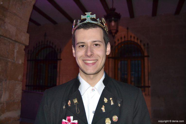 Receiving New falleros presidents - Christian Pellicer