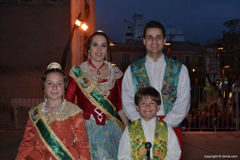Receiving New falleros presidents - Charges fails Saladar 2016