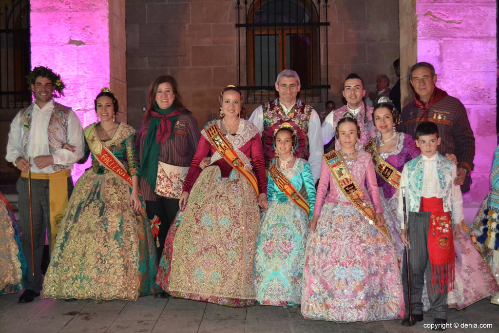 Reception of new Fallas presidents - Charges Falla Camp Roig