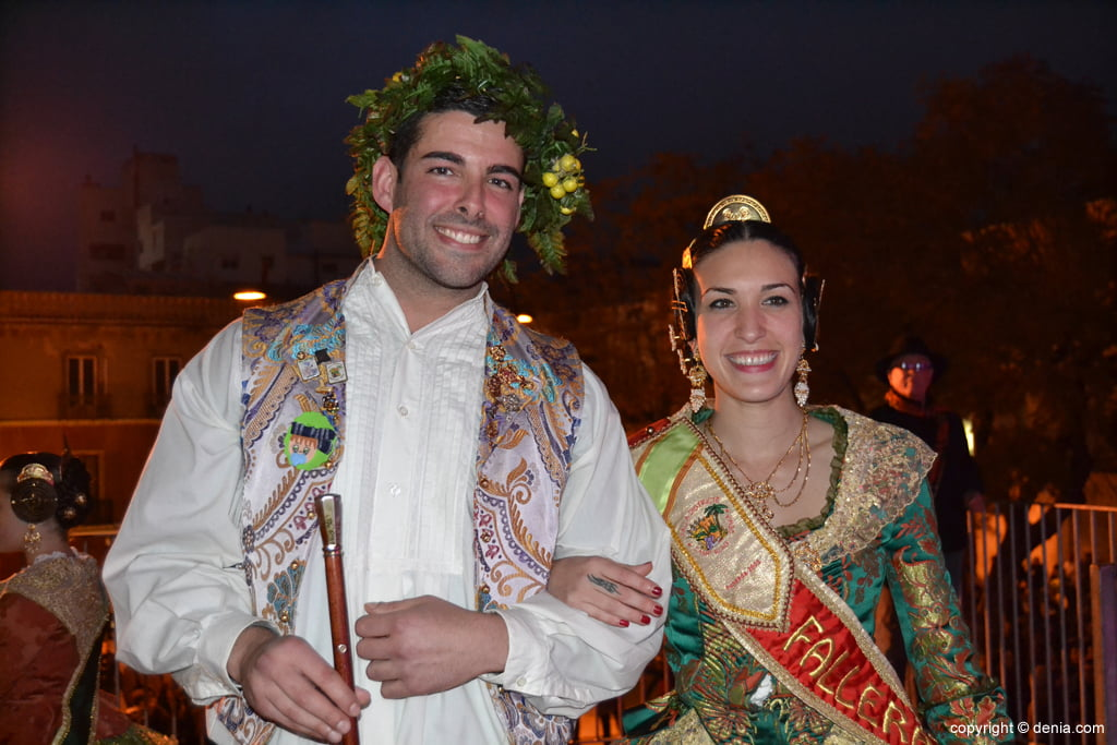 Reception of new Fallas Presidents - Charges Falla Camp Roig 2016