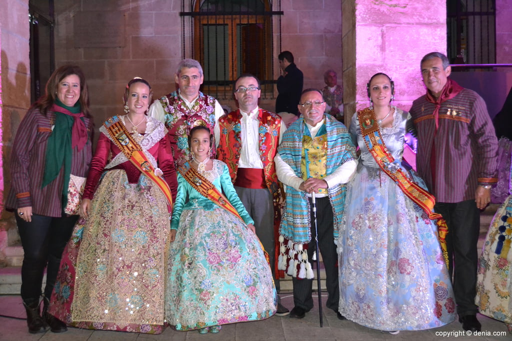 Reception of new Fallas presidents - Charges falla Les Roques
