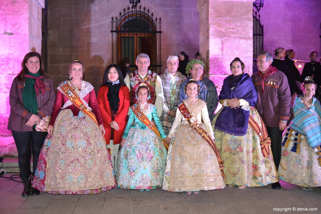 Reception of new fallas presidents - Charges fails Port Rotes