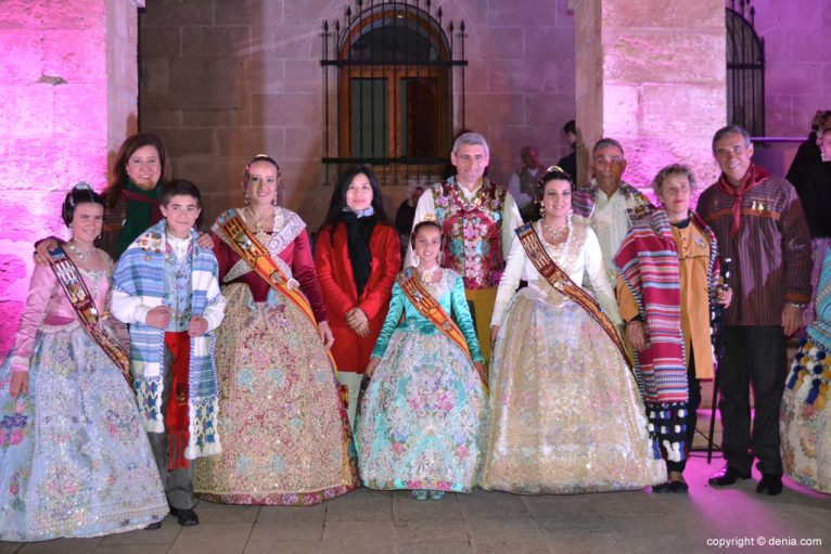 Reception of new Fallero presidents - Charges fails Darrere del Castell