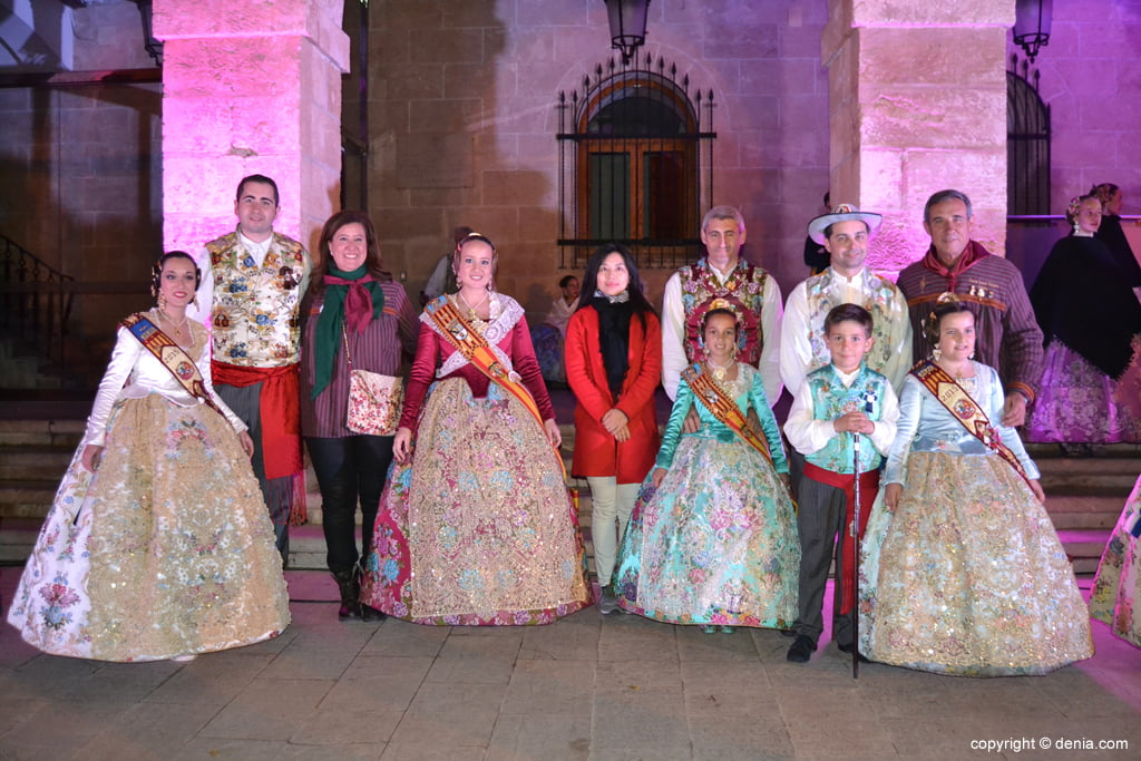 Reception of new Fallas Presidents - West Falla Charges