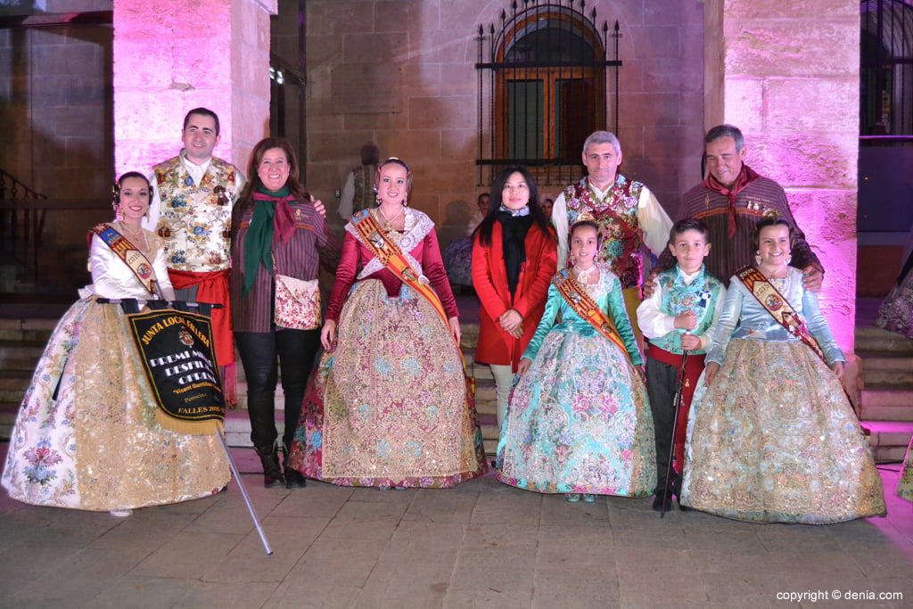 Reception of new fallas presidents - Best parade award for the Falla Oeste