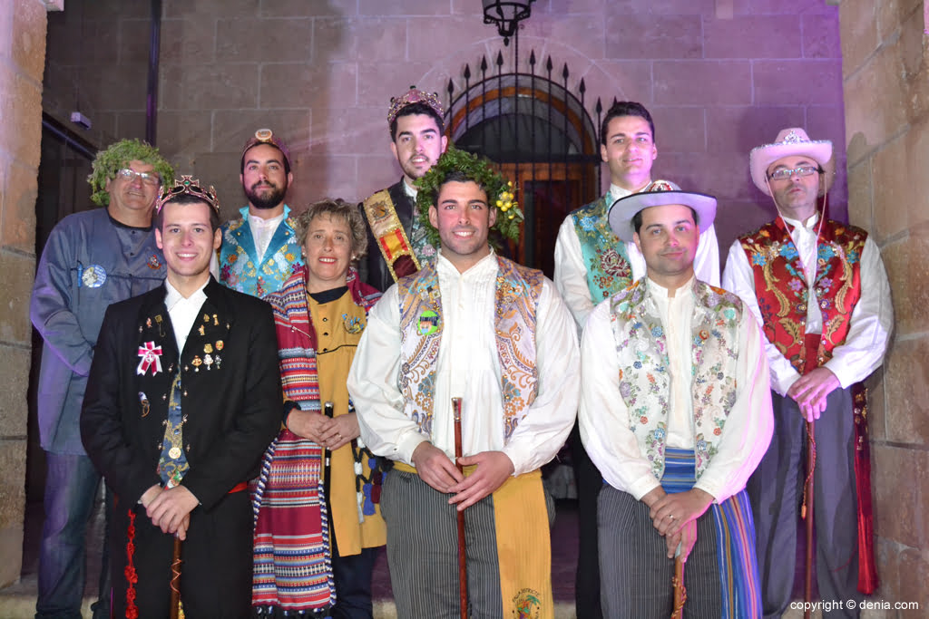 Reception of new Fallas Presidents - Presidents 2016