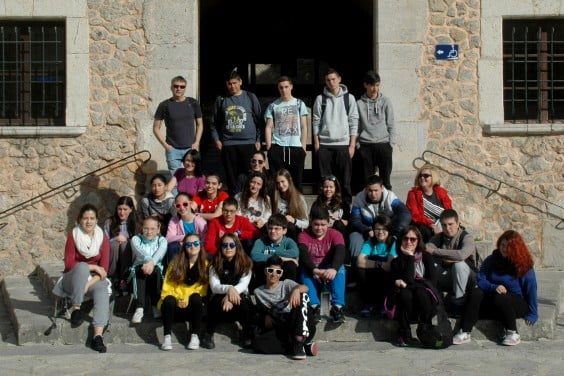Alumnos IES Historiador Chabàs
