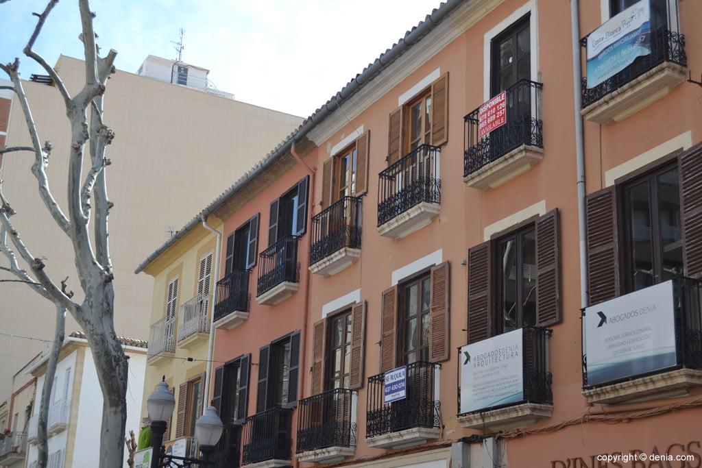 Balconies in Marqués de Campo