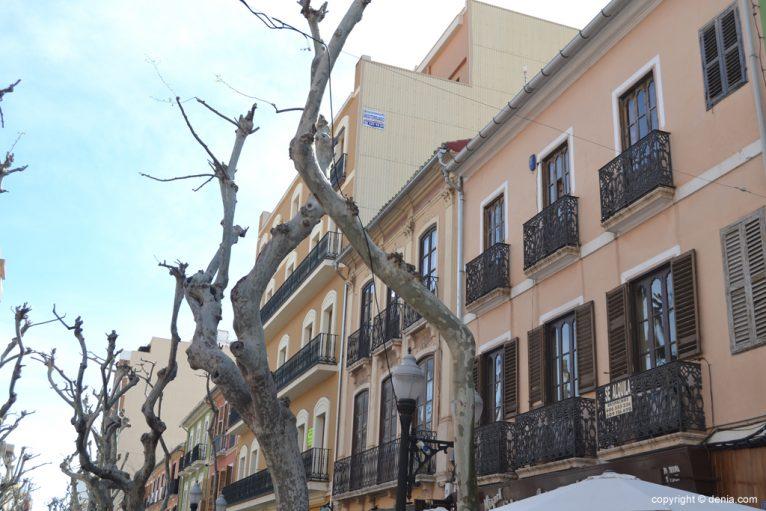 Edificios de la calle Marqués de Campo