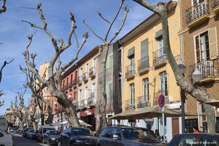 Fachadas de la calle Marqués de Campo