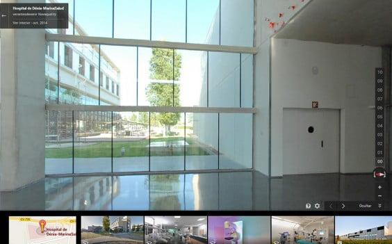 Hospital de Dénia in Google Street View