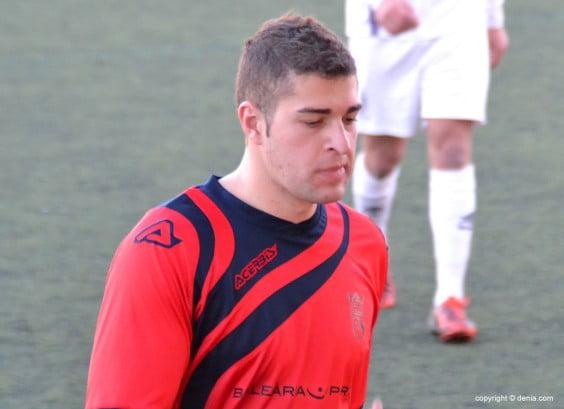 Maxi Villalba portero del CD. Dénia