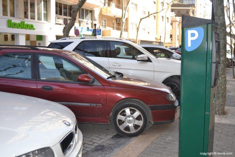 Parquímetro en Marqués de Campo