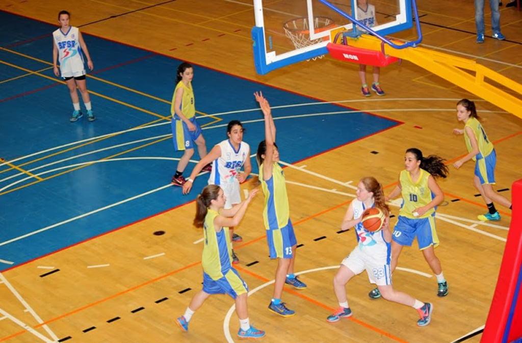 Party femenio San Blas-Dénia cadets Basketball