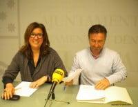 Ana Kringe y Vicente Chelet