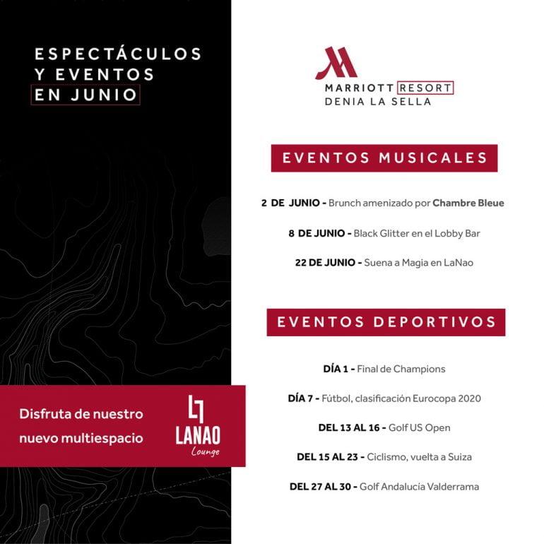 Esdeveniments estiu Hotel Dénia Marriott La Sella Golf Resort & Spa