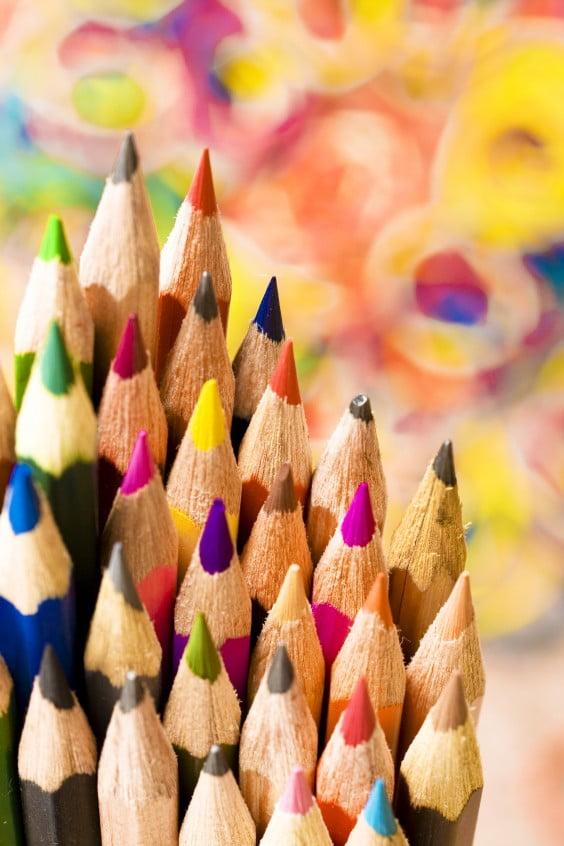 lápices para niños
