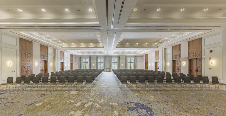 Salle de réunion de l'hôtel Dénia Marriott La Sella Golf Resort & Spa