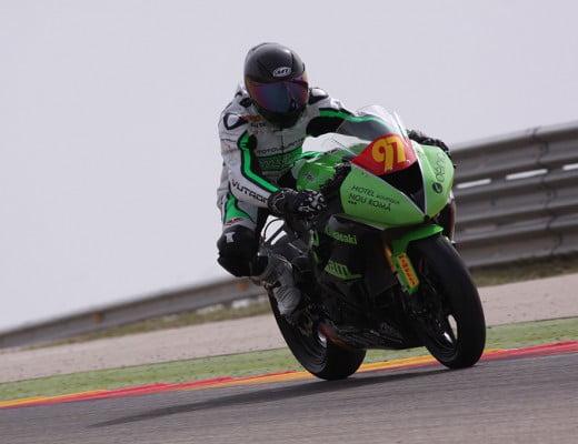 Álex Sirerol sobre su moto