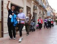 2º Marcha Solidaria Deniacom a favor del CEE Raquel Payà - caminantes