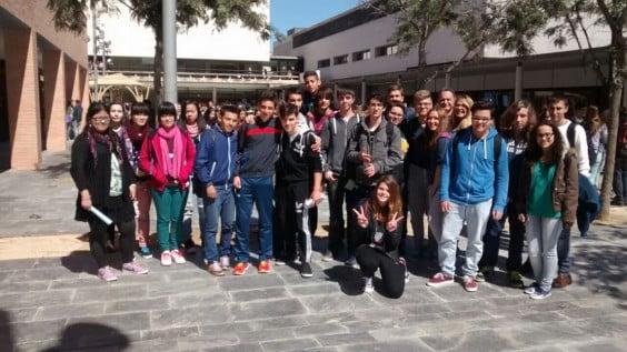 Alumnos del IES María Ibars en las pruebas Cangur