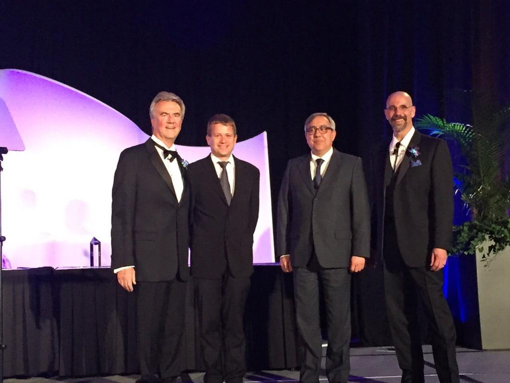 Award ceremony at Marina Salud in Chicago