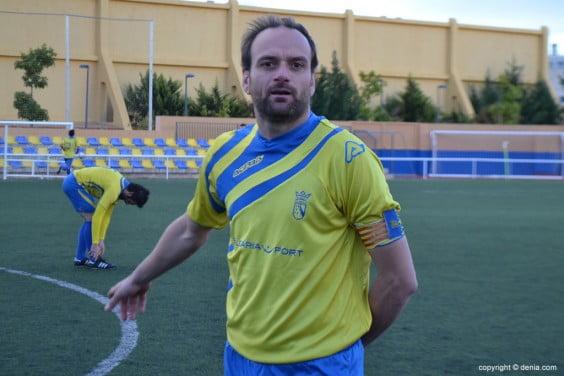 Gervasio goalscorer of Dénia