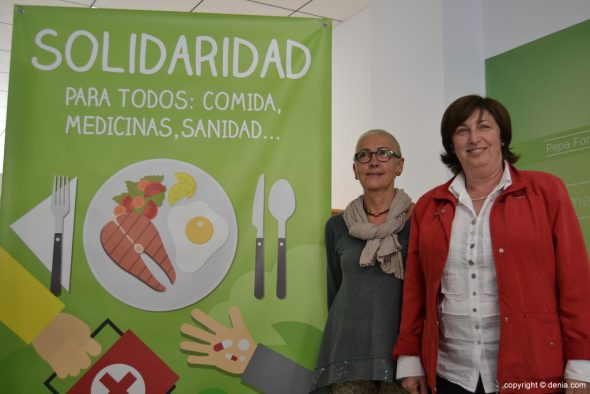 Marisa Armell y Pepa Font
