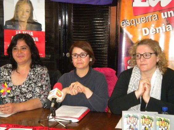 Пресс-конференция Esquerra Unida
