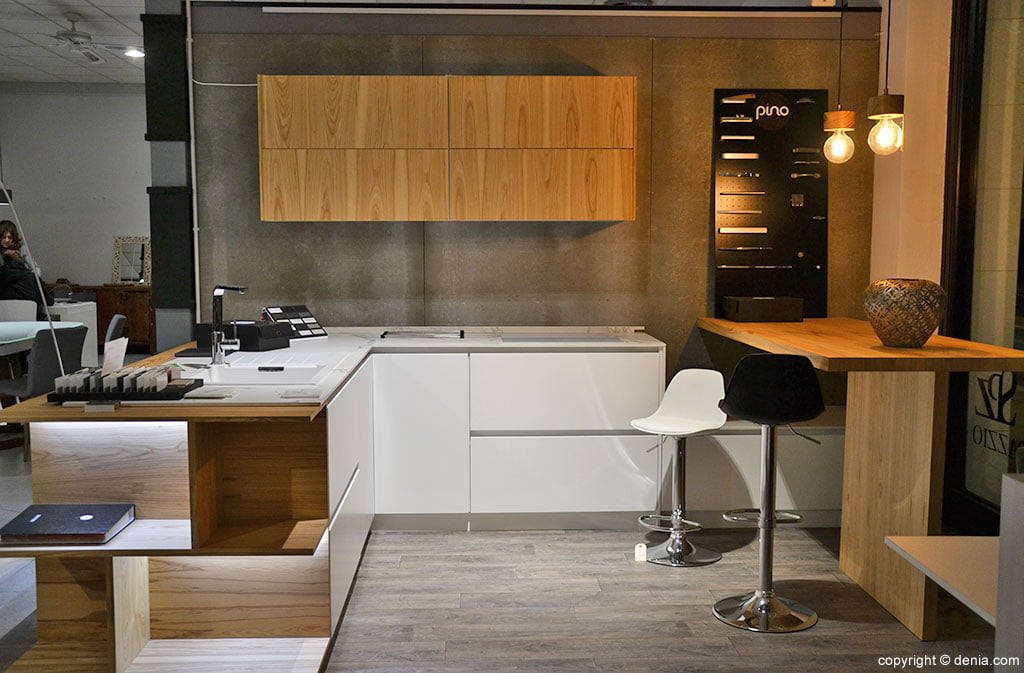 Cocina blanca Muebles Martínez