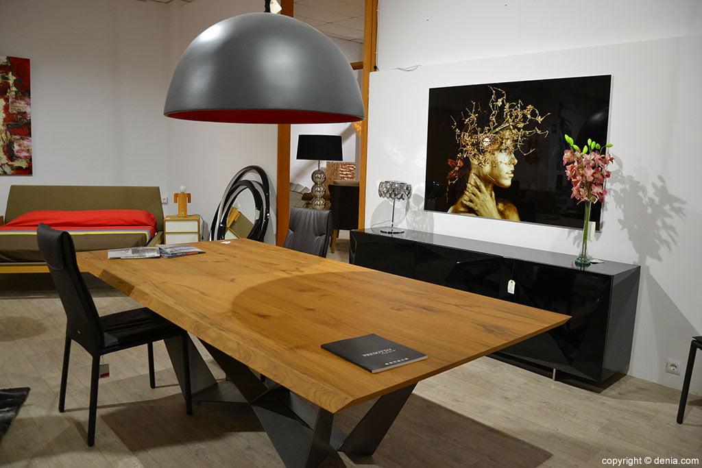 Comedor mesa madera Muebles Martínez