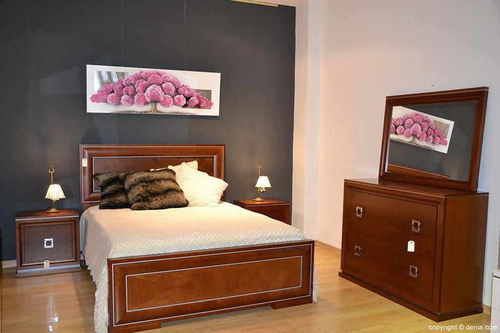 Dormitorio madera Muebles Martínez