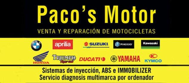 Imagen: Logotipo de Paco's Motor