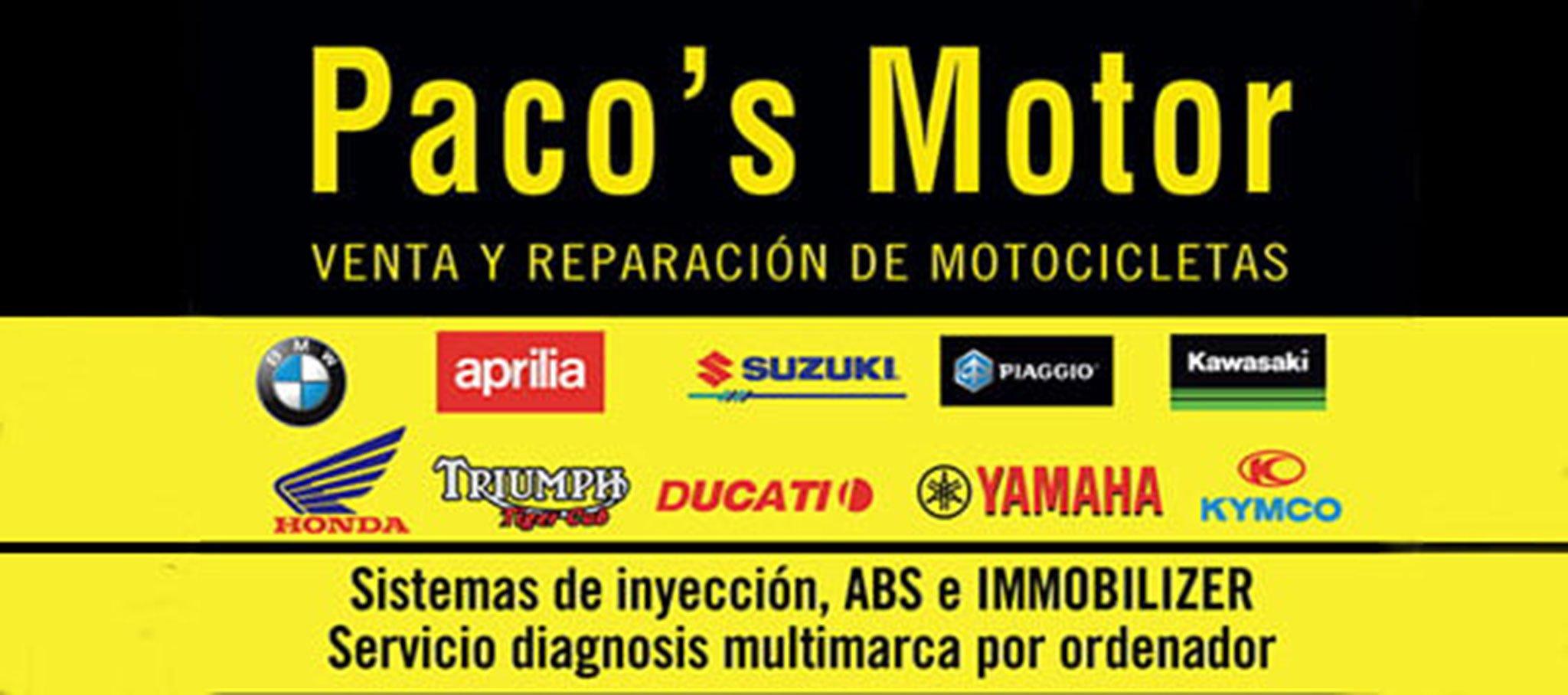 Logotipo de Paco's Motor