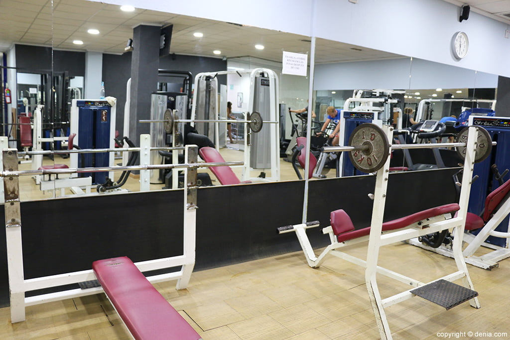 Máquinas Ogisaka Fitness Spa