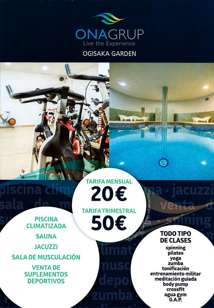 Ofertas Ogisaka Fitness Spa