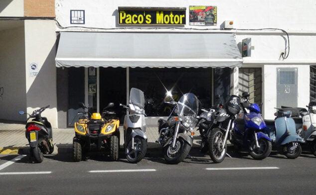 Imagen: Vista del exterior de Paco's Motor