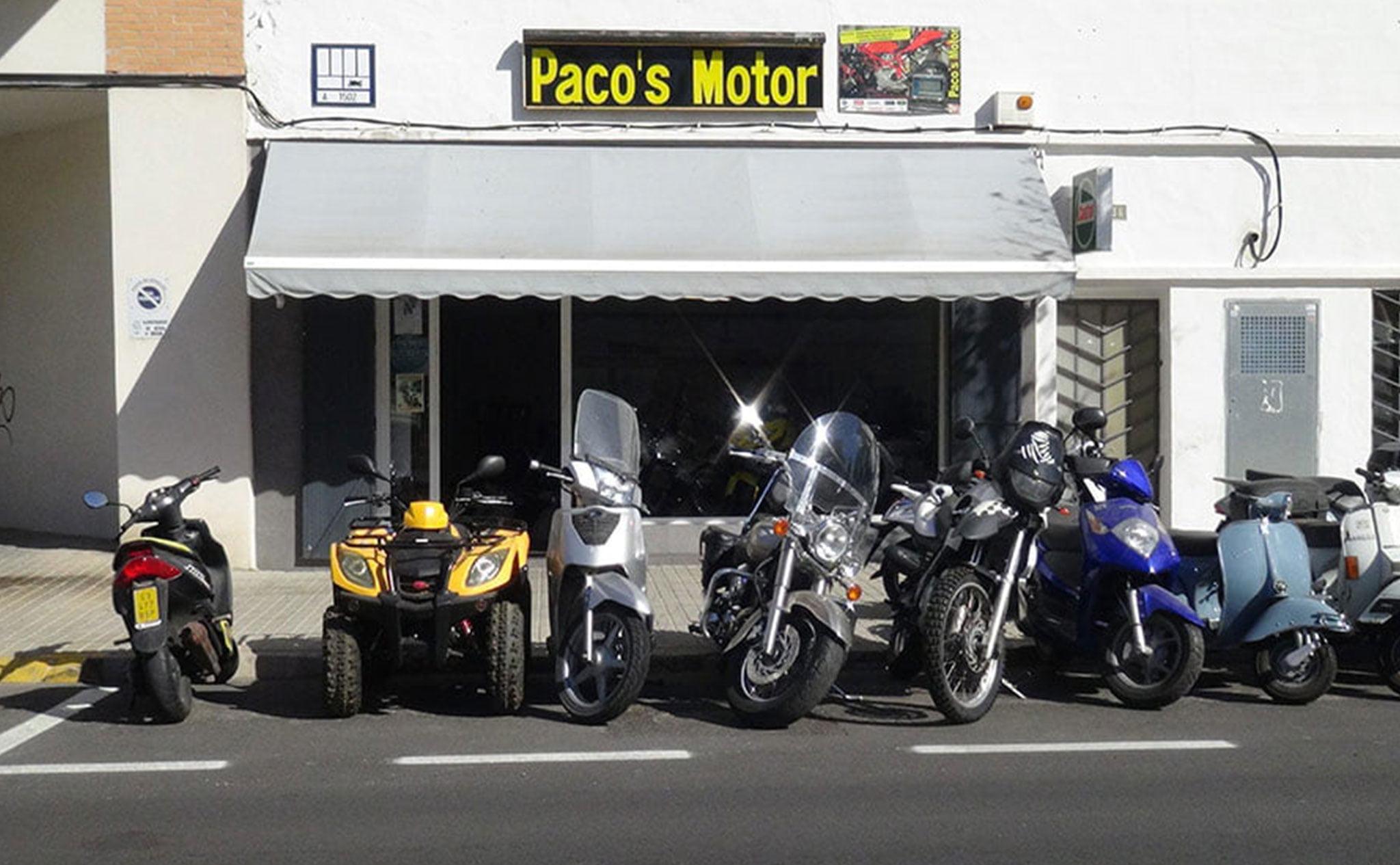 Vista del exterior de Paco's Motor