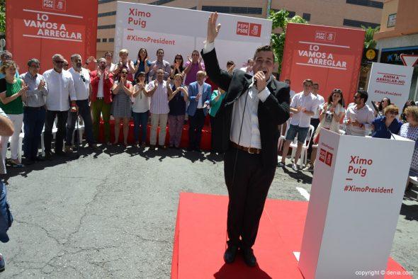 11 Mitin PSOE Dénia - Angel Serrano