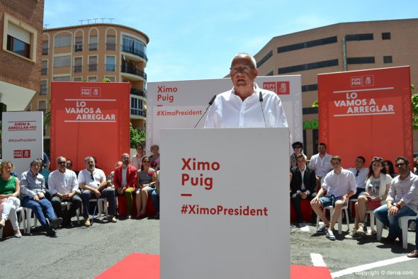 Mitin PSOE Dénia - Vicent Grimalt