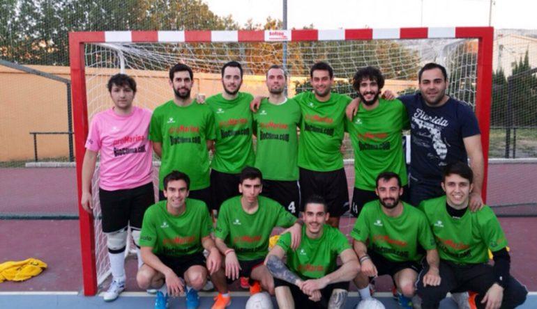 Equipo Inmo. ProMarina campeón de la liga oro ACYDMA
