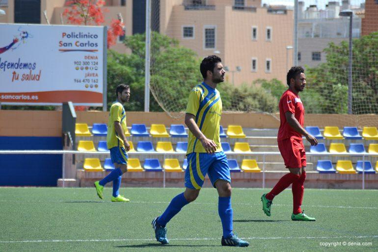 Monkey scored two goals against Catarroja