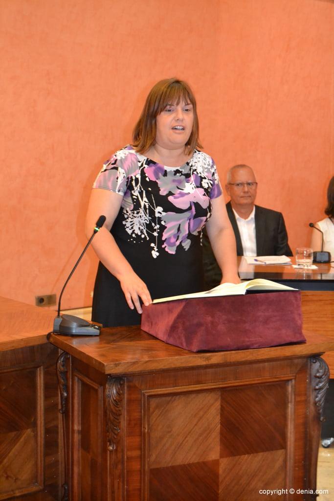Juramento de los nuevos concejales de Dénia – Cristina Morera