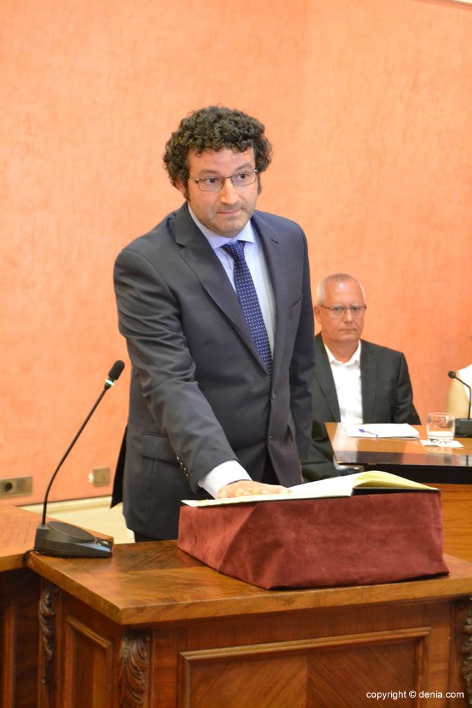 Juramento de los nuevos concejales de Dénia – Óscar Mengual